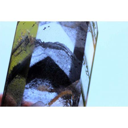Bergkristall-Super-Graphit-Wolken-Phantom-Energie-Kristall