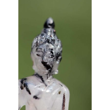 Turmalinquarz-Energie-Ganesha, sitzend