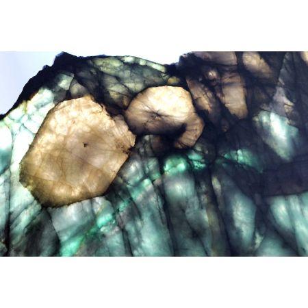 Wassermelonen-Turmalin-Energie-Scheibe (Reichtum des Lebens)