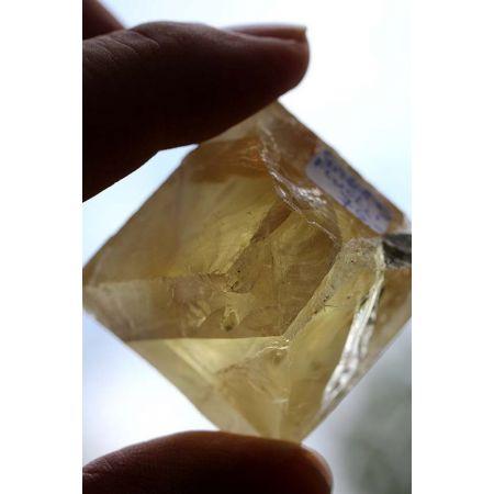 Fluorit, gelb - Energie - Kristall -seelische Wundenheilung-