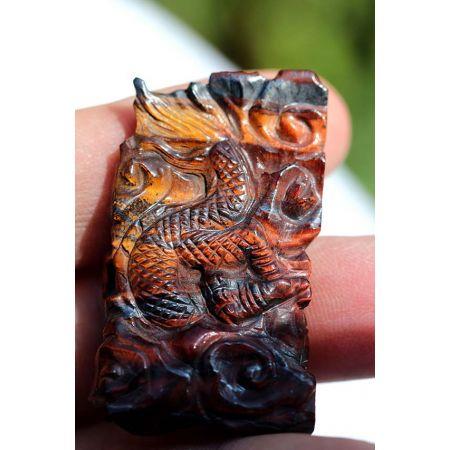 Tigereisen-Drachen-Energie-Anhänger