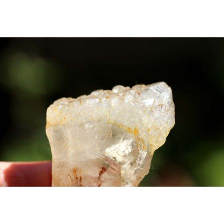 Amethyst xx - Goethit - Energie-Kristallstufe
