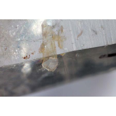 Skelettierter Bergkristall - Kometen - Krater - Energiekristall (Feuer u. Schlüssel des Geistes+Weltenseele)