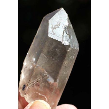 Bergkristall - Blitz - Krater - Energie - Kristall (Lichtarbeit - Weltenseele)