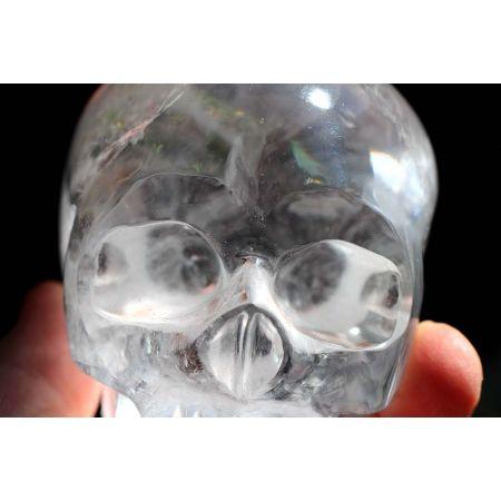 Bergkristall-Energie-Schädel / Schlüssel zur Weisheit