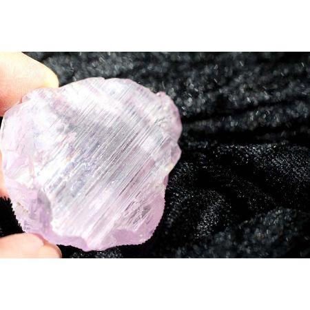 Kunzit - Energie - Doppelender - Trigonic - Kristallstufe