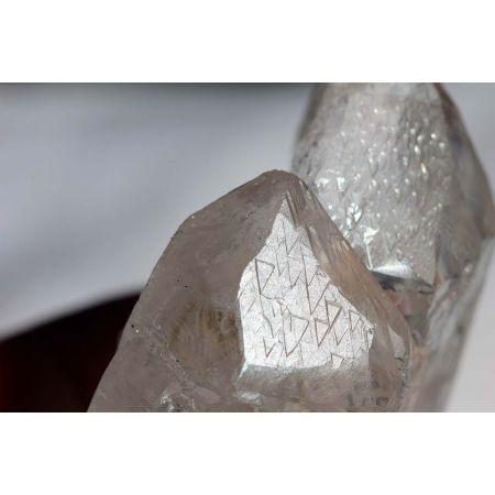 TRIGONIC-Bergkristall-skelettiert-Krater-Tantrische Zwillinge-Energie-Kristall Kristallreise zu unserer Seele