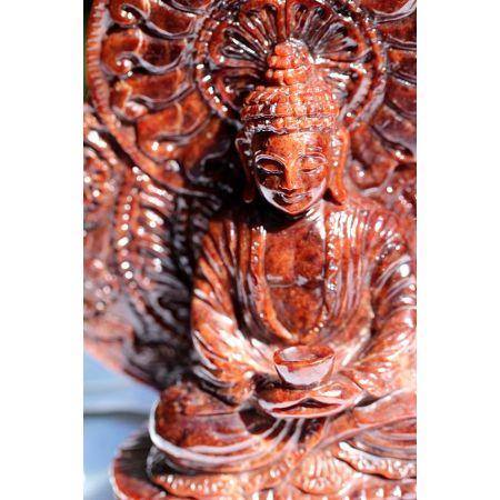 Ametrin-Energie-Medizinbuddha (Stein für Erleuchtete)