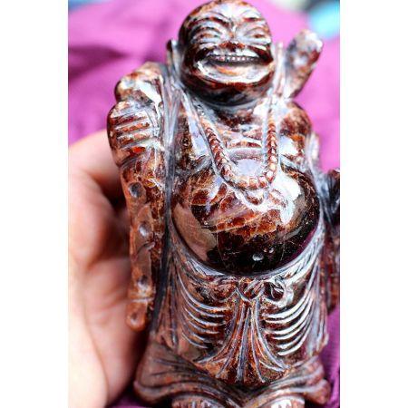 Hessonit-Energie-Medizin-Buddha  (Kraft und Erfüllung)