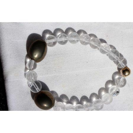 Golden Boji®-Paar+BK-Energie Armband