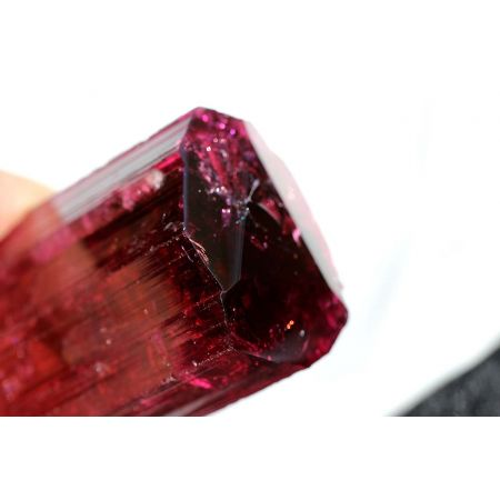 Elbait-Energie-Kristall/DOE mit BK-DOE+Calcit/Clevelandit/Albit