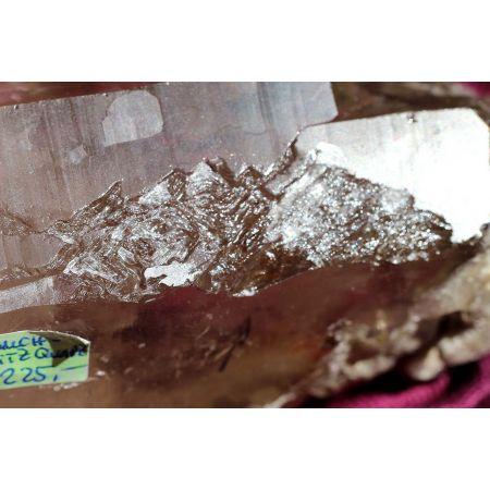 Rauchquarz-Krieger-BLITZ-Krater-Schöpfer-Energie-Kristall (Lichtarbeit - Weltenseele)