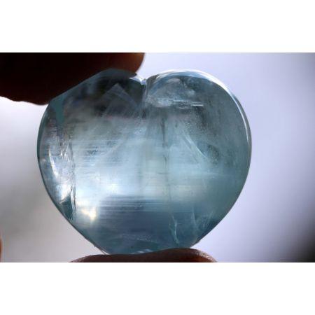 Aquamarin-Energie-Herz -...