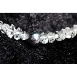 Herkimer Diamanten + Gibeon...