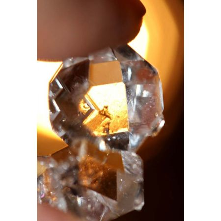Herkimer Diamanten Drilling