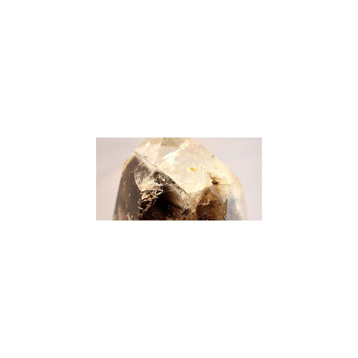 Bergkristall + Rauchquarz