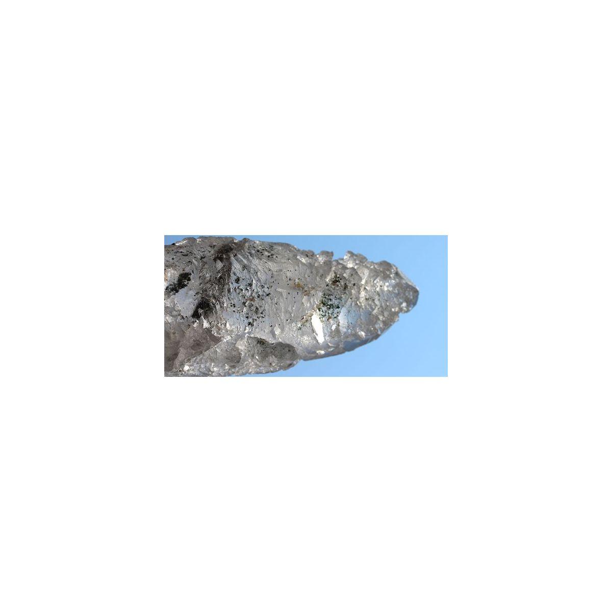 Bergkristall, skelettiert